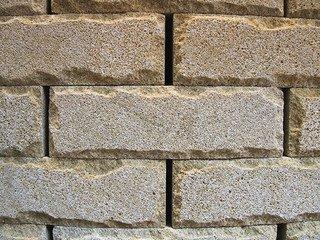 Кирпич из натурального камня NEOLIT Рукельский колотый, белый 215х65х90 мм