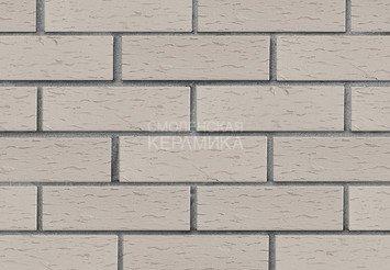 Клинкер фасадный ЛСР «Стокгольм» серый береста 2