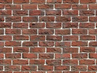 "305-71 White Hills ""Бремен брик"" (Bremen brick), красный, тычки, Нормативная ширина шва 1,2 см."