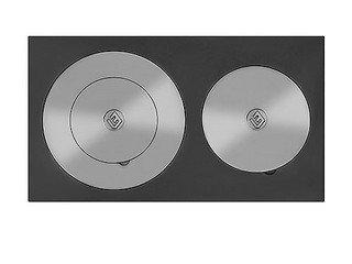 Плита 2- х конфорочная Везувий 4В (410х710)