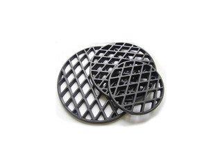 Решетка для стейков чугунная D27,5 см с матовым керамическим покрытием для тандыров Амфора