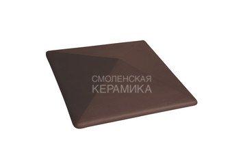 Керамическая шляпа King Klinker 445х585 коричневый 1