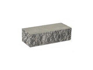 Кирпич облицовочный полнотелый BARRUM Серый, угловой 1НФ