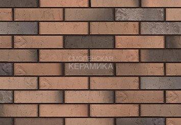 Кирпич лицевой BRAER Кладка Грифель Limited, терра 1НФ 1