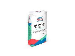 Клеевая смесь для газоблоков PEREL Blokus 0332 белая, 25 кг