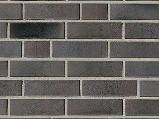 Клинкерная плитка фасадная Röben BRISBANE 22 Антрацитовый с оттенком гладкая NF14
