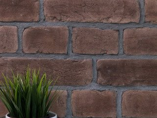 Плитка кирпич Brown LoftStyle 12 х 7 тычок