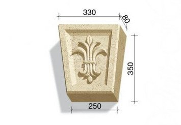 730-13 Замковый камень Z3 1
