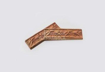 Элемент декоративный Олимпия Мини Терракот 1