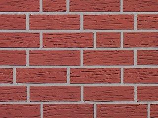 Клинкерная плитка фасадная Röben MELBOURNE 26 красный, рифленая NF14