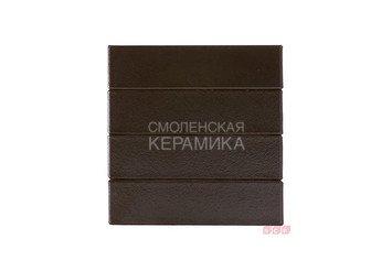 Клинкер фасадный ЛСР Обсидиан «Рейкьявик» черный гладкий глянцевый 2