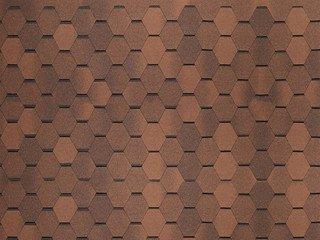 Tegola (NORDLAND) НОРДИК коричневый с отливом