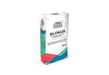 Клеевая смесь для газоблоков PEREL Blokus 5340 серая, 40 кг зимняя 1