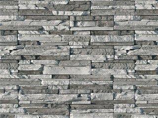 "102-80 Декоративный камень White Hills ""Кросс Фелл"" (Cross Fell), серый, плоскостной, без шва"