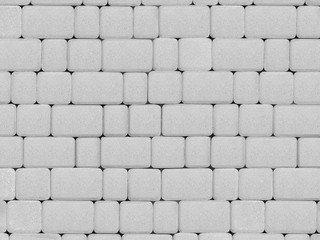 Тротуарная плитка ARTSTEIN Инсбрук Альт белый, 60 мм