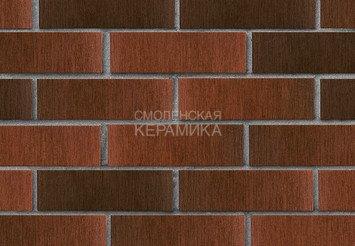 Кирпич лицевой керамический ЛСР Красный флэш тростник, 1НФ 2