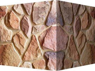 "600-45 White Hills ""Рутланд"" (Rutland), коричневый, угловой, Нормативная ширина шва 1,5-2,5 см."