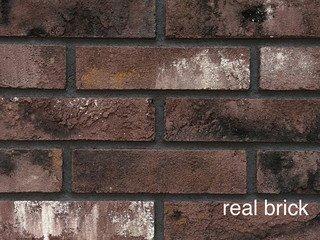 REAL BRICK. Кирпич ручной формовки RB КР/0,5ПФ угловой RB 04 бордовый