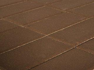 Тротуарная плитка Braer прямоугольник коричневый 200х100х60