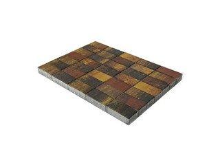 Тротуарная плитка Braer прямоугольник Color Mix Мальва 200х100х60
