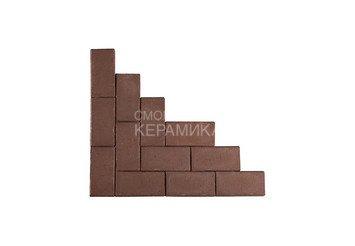 Клинкер тротуарный ЛСР «МЮНХЕН» коричневый 1