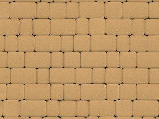 Тротуарная плитка ARTSTEIN Инсбрук Альт песочный, 40 мм