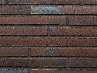 Ригельная клинкерная плитка Stroher 455 BRAUN-BLAU 14 мм