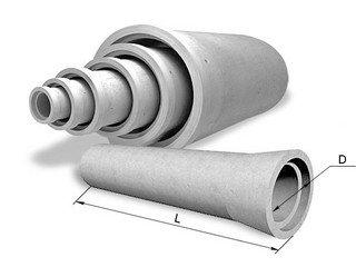 Асбестоцементные трубы безнапорные трубы (ГОСТ) ø 100 (L-3,95)