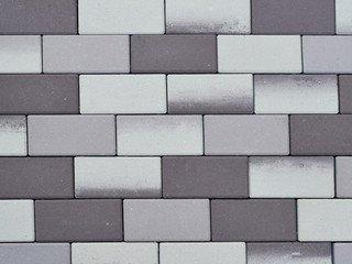Тротуарная плитка ARTSTEIN Прямоугольник Лайн ST Оникс, 60 мм