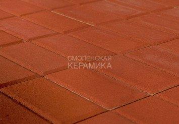 Тротуарная плитка BRAER Прямоугольник Красный, 40 мм 1