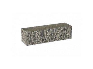 Кирпич облицовочный полнотелый BARRUM Мокрый асфальт, брусок угловой 0,5 НФ