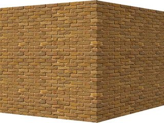"305-65 White Hills ""Бремен брик"" (Bremen brick), медный, угловой, Нормативная ширина шва 1,2 см."