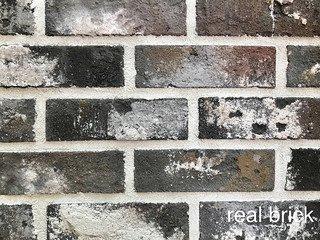 REAL BRICK. Кирпич ручной формовки RB КР/0,5 ПФ antic RB 13 antic глина античная графитовая