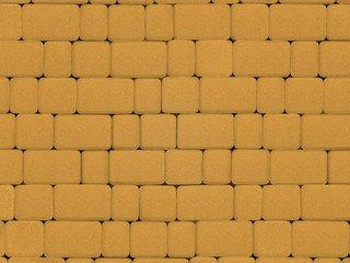 Тротуарная плитка ARTSTEIN Инсбрук Альт желтый, 40 мм