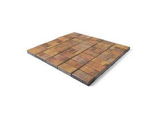 Тротуарная плитка Braer прямоугольник Color Mix Прайд 200х100х40