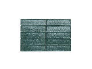 Кирпич керамический фасадный RECKE 5-28-00-0-00, 0,7НФ глазурованный зеленый