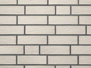 Клинкерная плитка фасадная Röben OSLO Белый перламутровый гладкая NF14