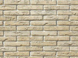 """380-10 White Hills """"Остия Брик"""" (Ostia Brick), бежевый, плоскостной, Нормативная ширина шва 1,2 см."""