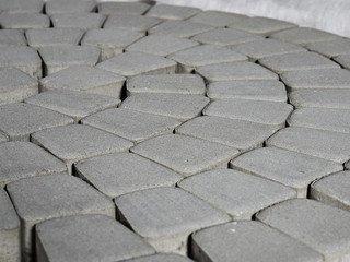 Тротуарная плитка BRAER Классико круговая, Серый