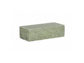 Кирпич облицовочный полнотелый BARRUM Зеленый, угловой 1НФ