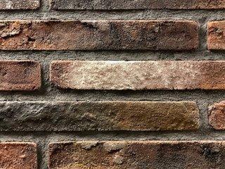 Плитка ручной формовки Real Brick RB 7-04 antic глина античная бордовая