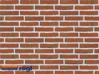 Кирпич печной полнотелый ручной формовки Randers Tegl RT 444 rotbunt handformziegel