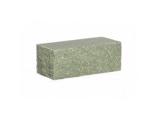 Кирпич облицовочный полнотелый BARRUM Зеленый, угловой1,4НФ