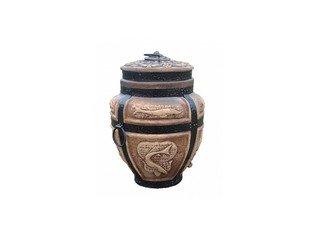 Тандыр керамический Барельеф Осётр средний