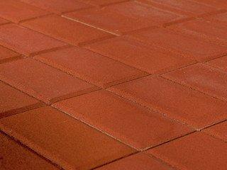 Тротуарная плитка Braer прямоугольник красный 200х100х40
