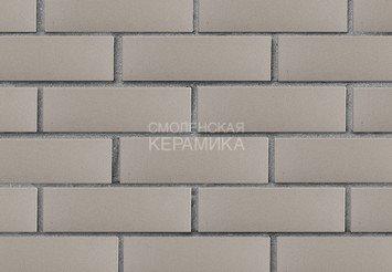 Кирпич лицевой керамический ЛСР Серый гладкий, 1НФ 2