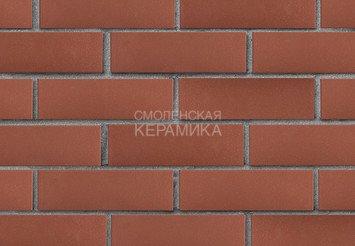 Клинкер фасадный ЛСР «Эдинбург» темно-красный гладкий 3