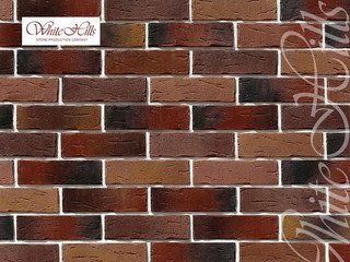 "378-70 White Hills ""Сити Брик"" (Сity brick), коричнево-медный, плоскостной, Нормативная ширина шва 1"
