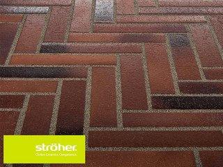 Клинкерная тротуарная плитка Stroher SPALTKLINKER Ригель 124 BRAUN-BLAU
