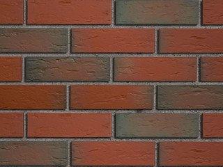 Клинкерная плитка фасадная Röben RHON красно-пестрый NF9